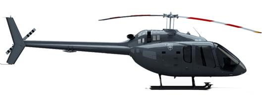 Profil couleur du Bell 505 Jet Ranger X