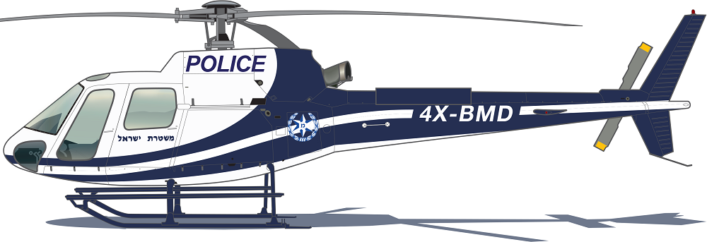 Profil couleur du Airbus Helicopters H125 / H125M
