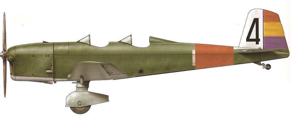 Profil couleur du Caudron C.600 Aiglon