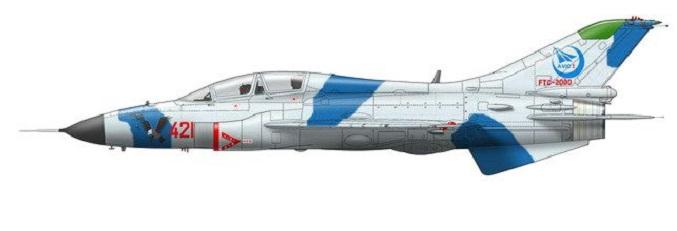 Profil couleur du Guizhou JL-9