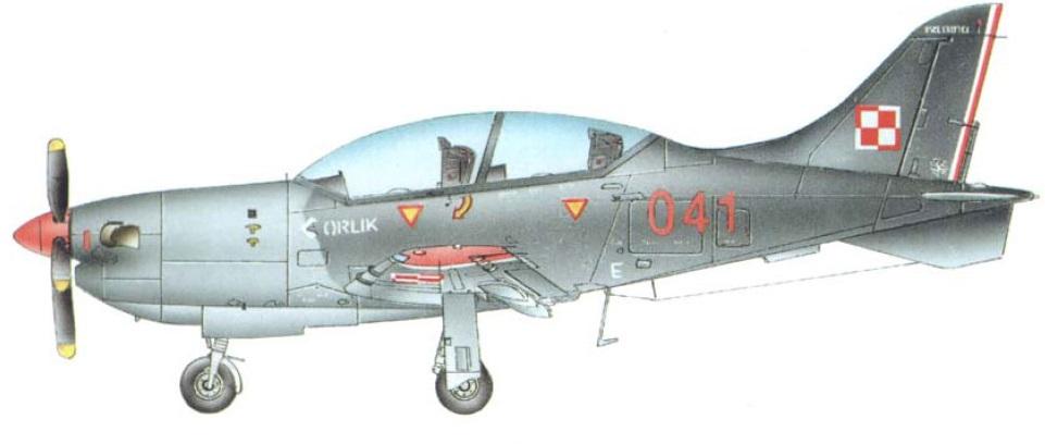Profil couleur du P.Z.L. PZL-130 Orlik