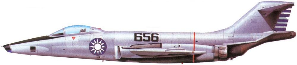 Profil couleur du McDonnell RF-101 Voodoo
