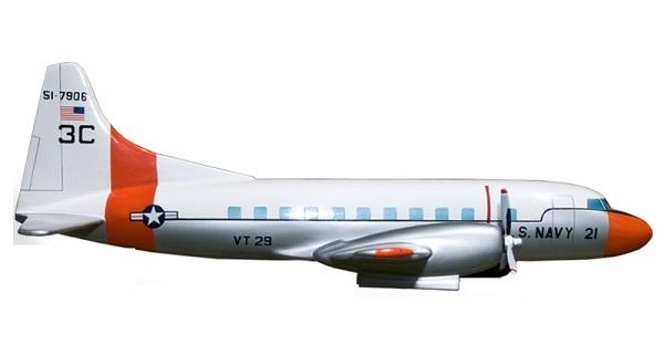 Profil couleur du Convair T-29 Flying Classroom