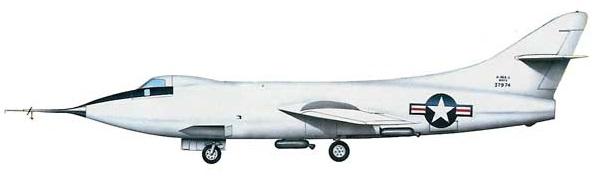 Profil couleur du Douglas D-558-2 Skyrocket