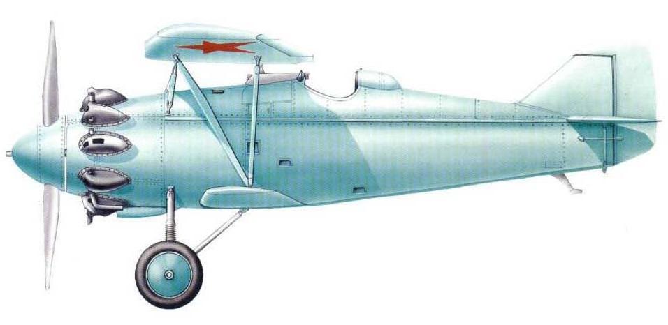 Profil couleur du Tupolev I-4