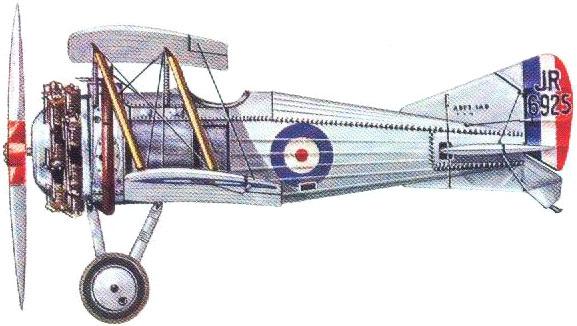Profil couleur du Gloster Nighthawk / Nightjar