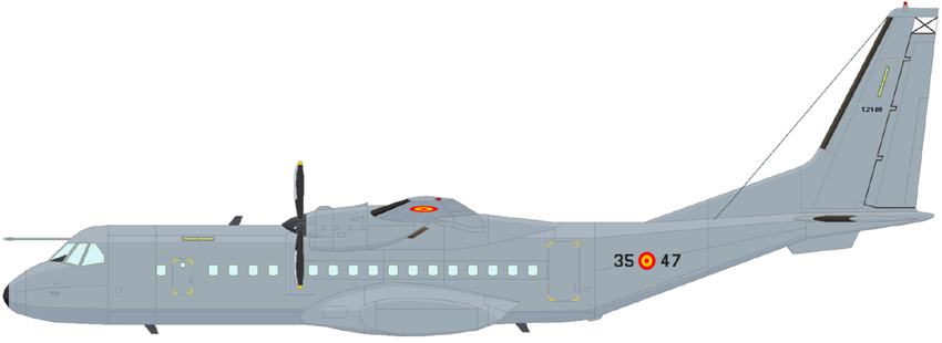 Profil couleur du Airbus Military C-295