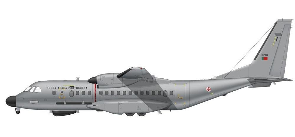 Profil couleur du Airbus Military C295 Persuader