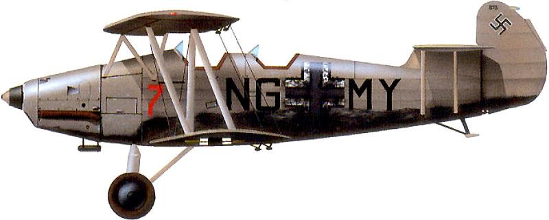 Profil couleur du Arado Ar 66