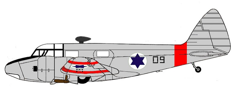 Profil couleur du Airspeed AS.65 Consul