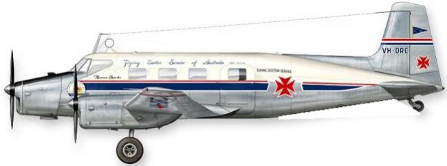 Profil couleur du De Havilland Australia DHA-3 Drover