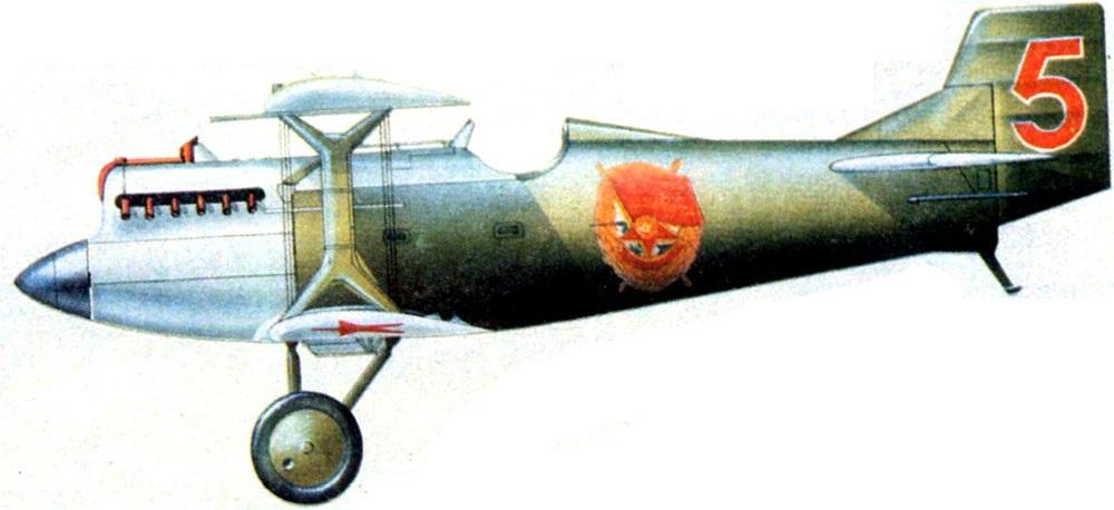 Profil couleur du Grigorovich I-2
