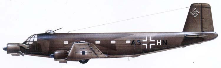 Profil couleur du Junkers Ju 352 Herkules