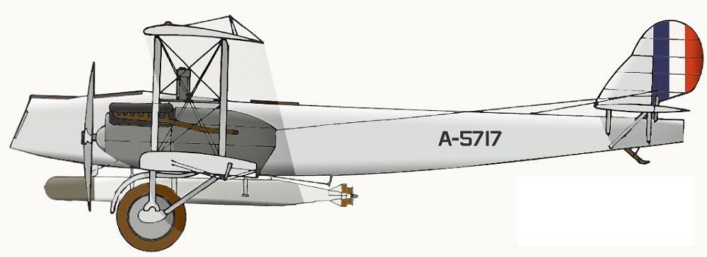 Profil couleur du Martin MB-1