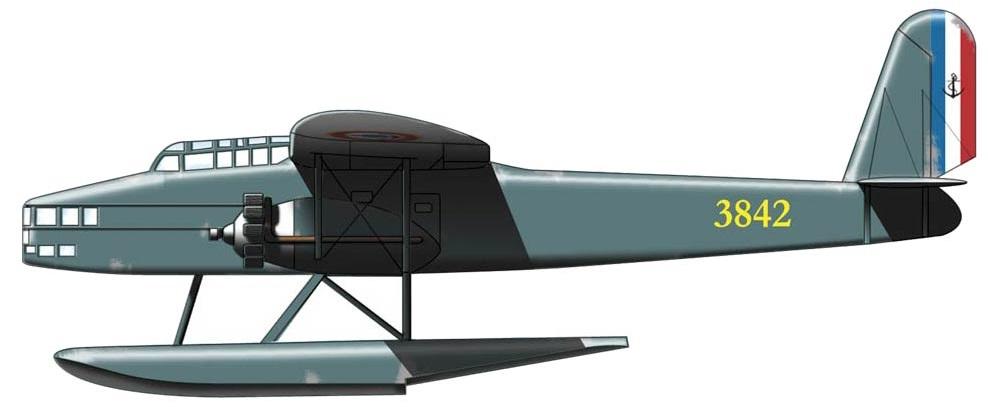 Profil couleur du SNCAC NC.470