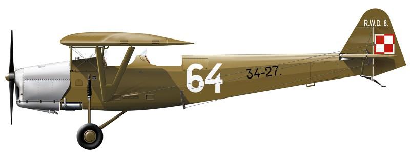 Profil couleur du R.W.D. RWD-8