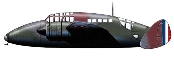 Profil couleur du Sud-Est SE.100
