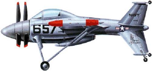 Profil couleur du Lockheed XFV Salmon