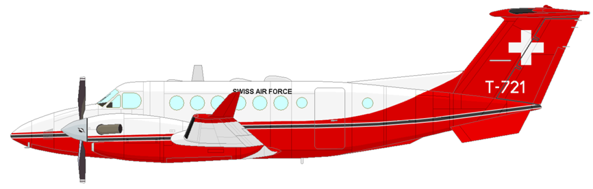 Profil couleur du Beechcraft Super King Air