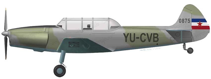 Profil couleur du Ikarus Aero 2