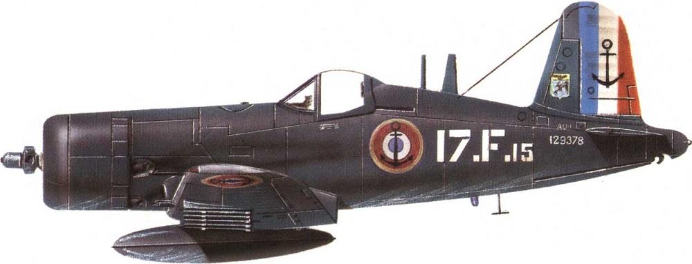 Profil couleur du Vought AU Corsair