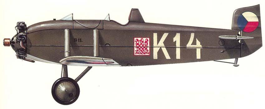 Profil couleur du Avia BH-9