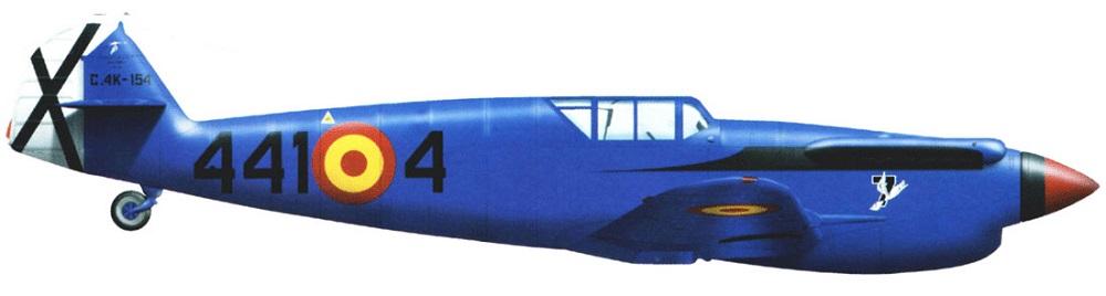 Profil couleur du Hispano HA-1112 Buchon