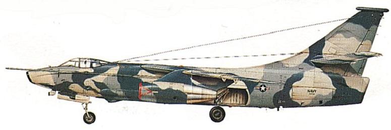 Profil couleur du Douglas EA-3 / RA-3 Skywarrior