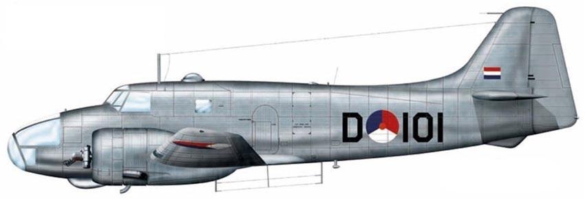 Profil couleur du Fokker S-13 Universal Trainer