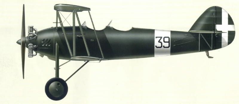 Profil couleur du Zmaj Fizir FP-2