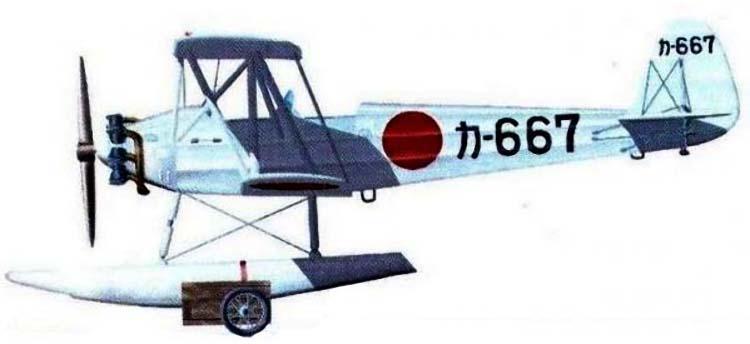 Profil couleur du Yokosuka K4Y 'Birch'