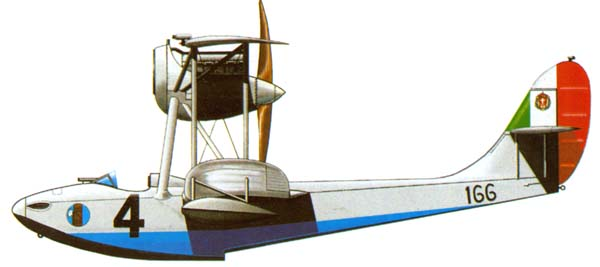 Profil couleur du Macchi M.41