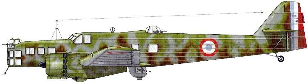 Profil couleur du Bloch MB.210
