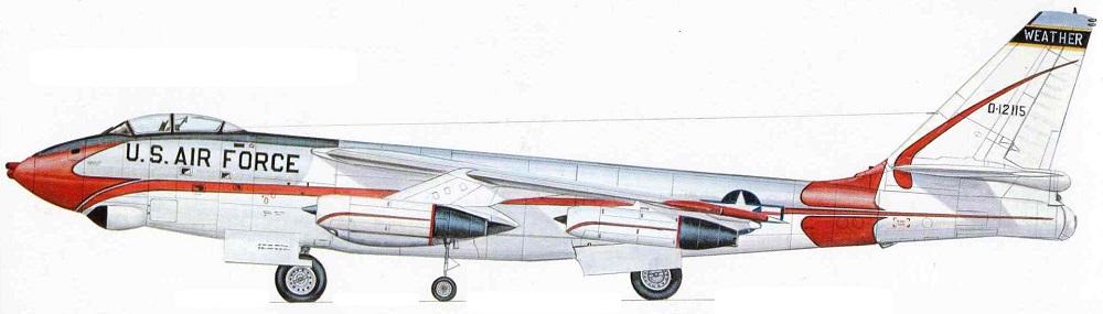 Profil couleur du Boeing RB-47 Silver King