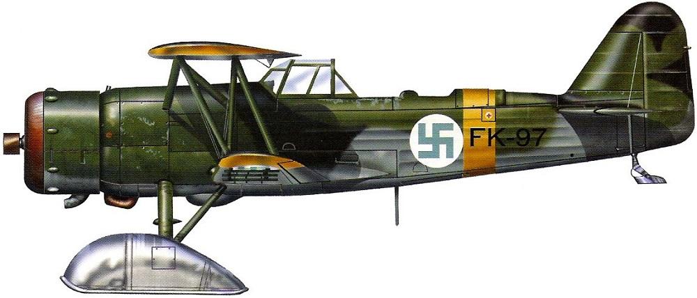 Profil couleur du Fokker C.X