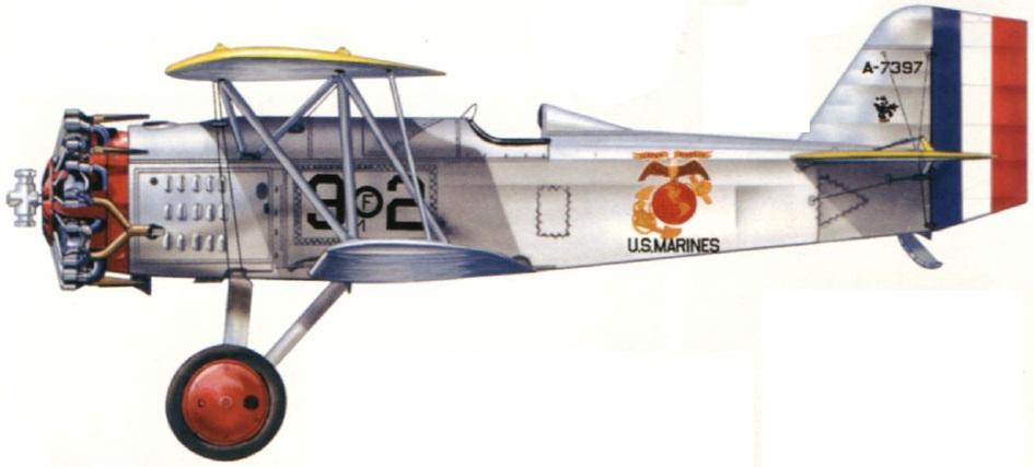 Profil couleur du Curtiss F6C Hawk