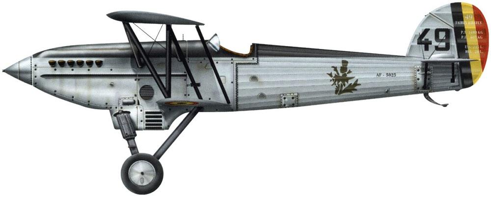 Profil couleur du Avions Fairey Firefly