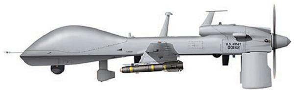 Profil couleur du General Atomics MQ-1 Gray Eagle