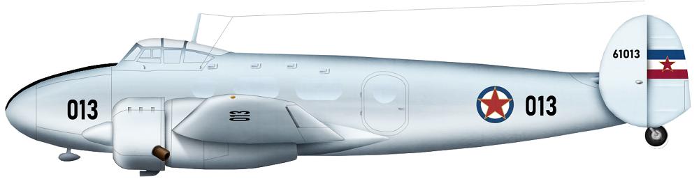 Profil couleur du Ikarus IK-214 Vihor