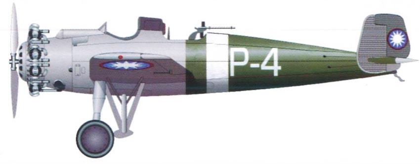 Profil couleur du Junkers K-47