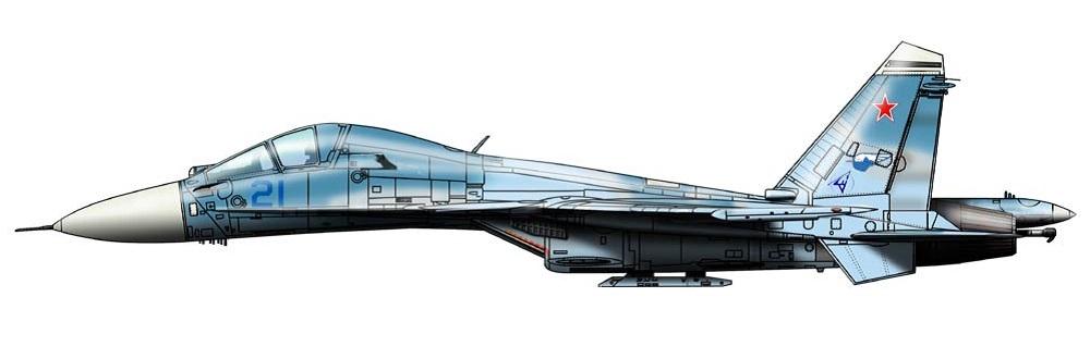 Profil couleur du Sukhoi Su-27KUB 'Flanker-D'