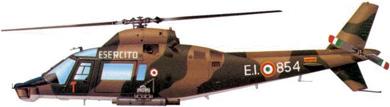 Profil couleur du Agusta A-109 Hirundo