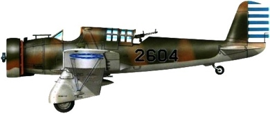 Profil couleur du Curtiss A-8/A-12 Shrike