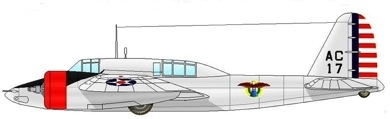Profil couleur du Curtiss A-18 Shrike