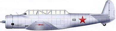 Profil couleur du Vultee A-19 (V-11)