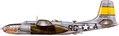 Profil couleur du Douglas A-26 Invader