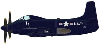 Profil couleur du Douglas A2D Skyshark