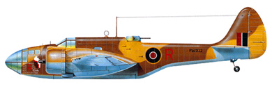 Profil couleur du Martin A-30 Baltimore