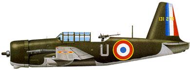 Profil couleur du Vultee A-31/A-35 Vengeance