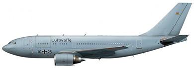 Profil couleur du Airbus A310MRTT